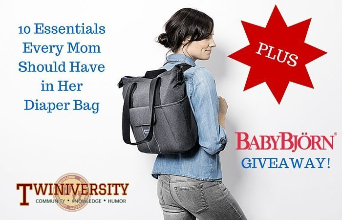 10 Essentials Every Mom Should Have in Her Diaper Bag