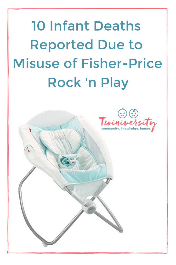 10 Infant Deaths Reported Due to Misuse of Fisher-Price Rock 'n Play