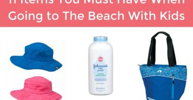 11 items you must have when going to the beach with kids
