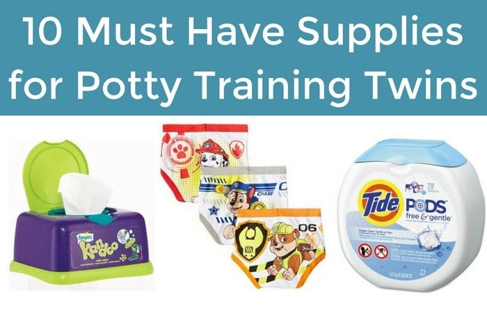 supplies for potty training