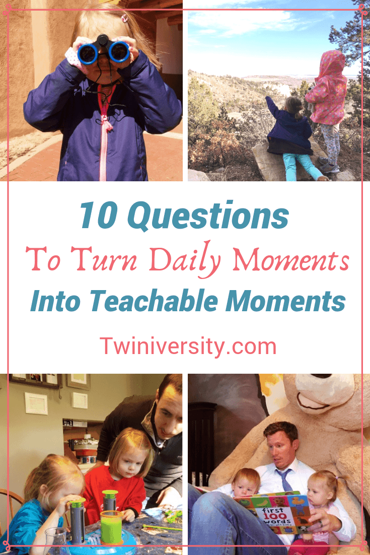 10 Questions to Turn Daily Moments into Teachable Moments