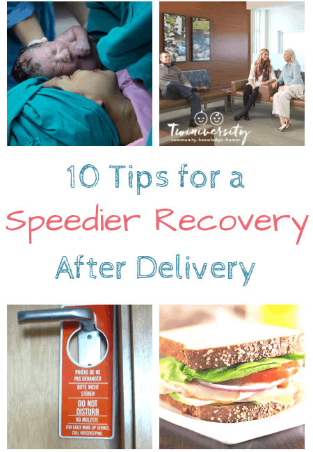 10 Tips For a Speedier Recovery After Delivery
