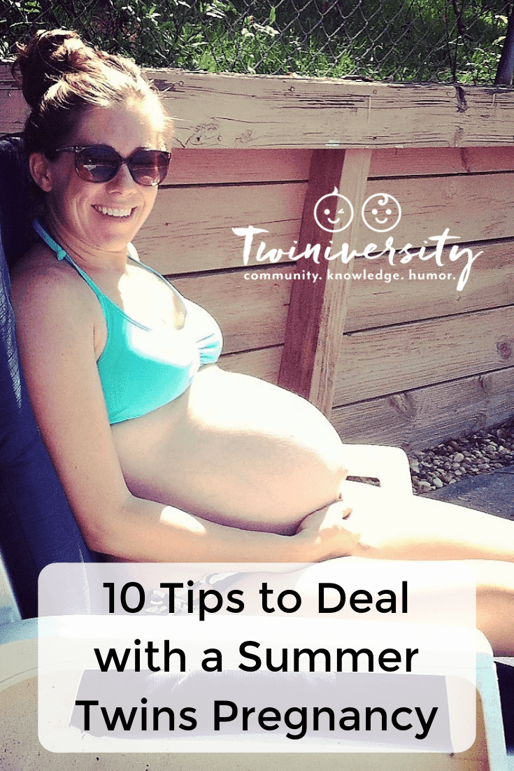 10 Tips to Deal with a Summer Twins Pregnancy