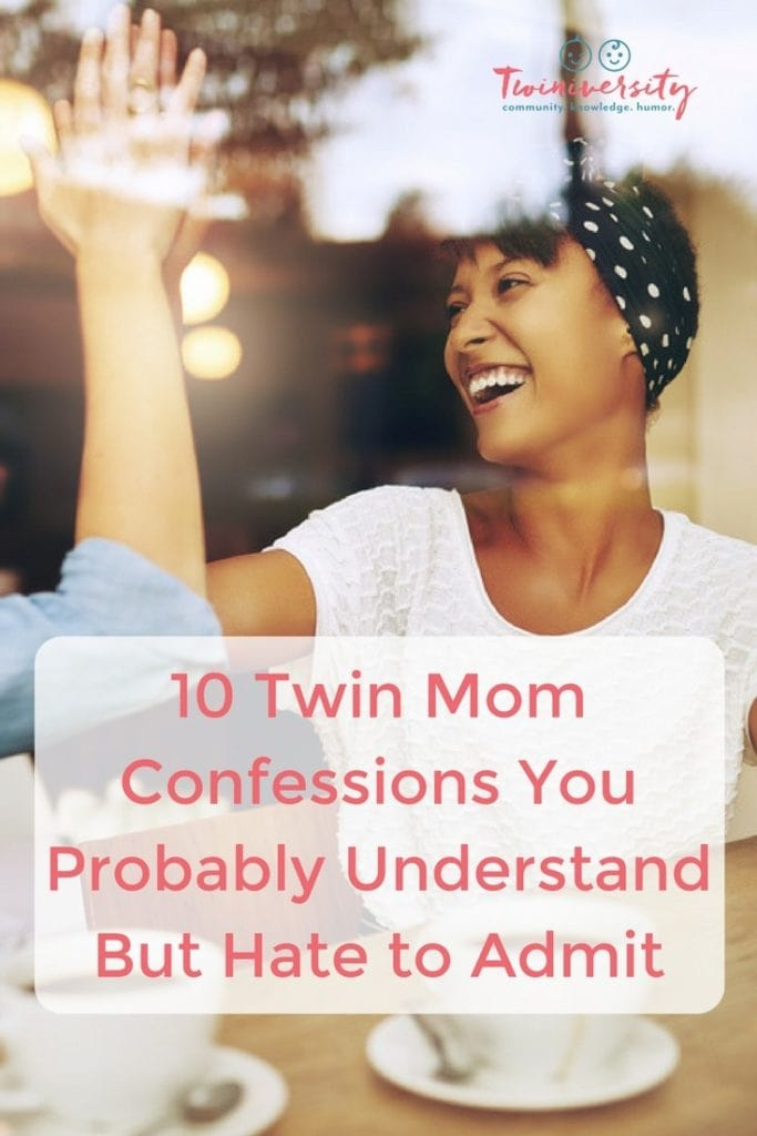 10 Twin Mom Confessions You Probably Understand But Hate to Admit