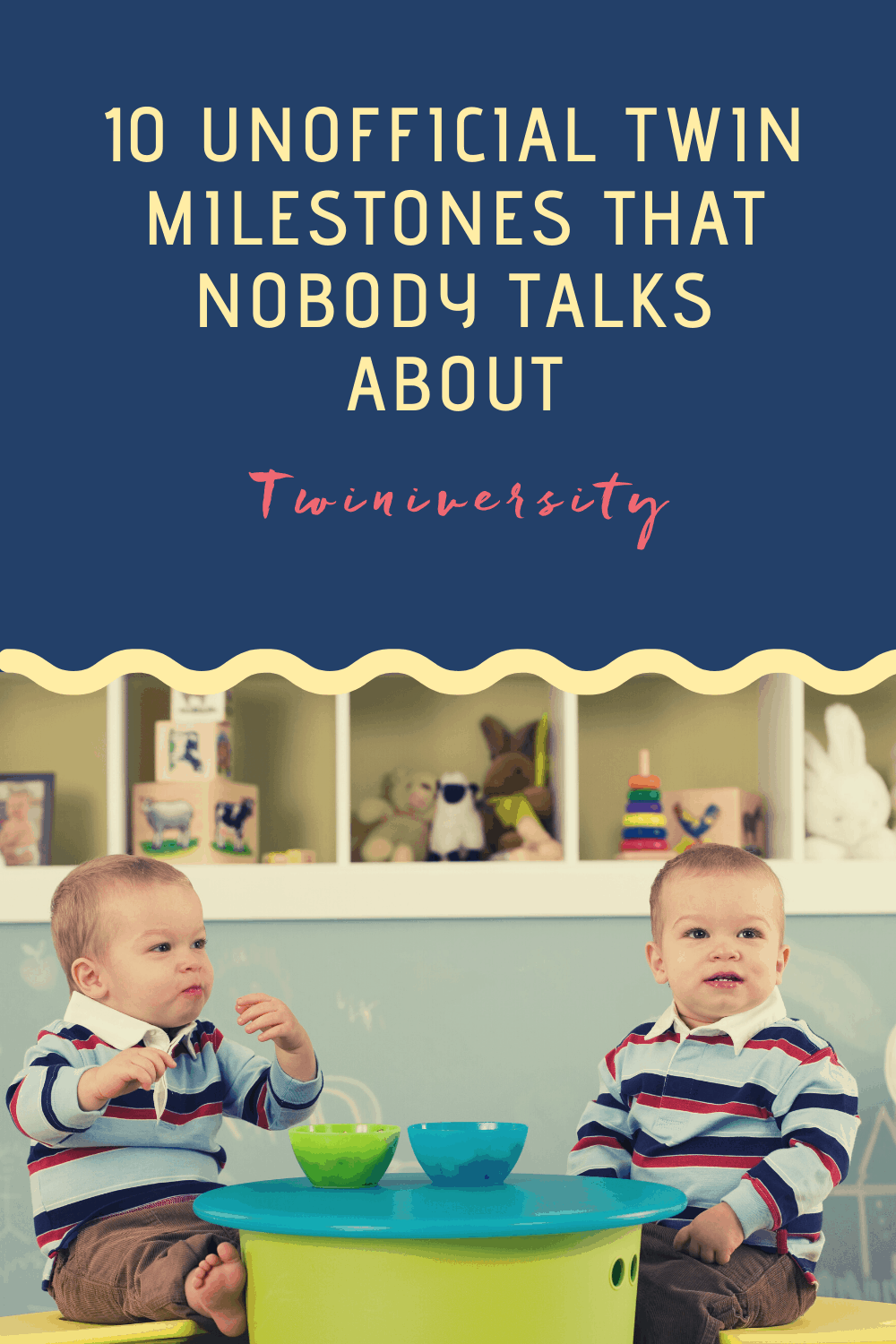 10 Unofficial Twin Milestones That Nobody Talks About