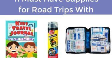 supplies for raod trips