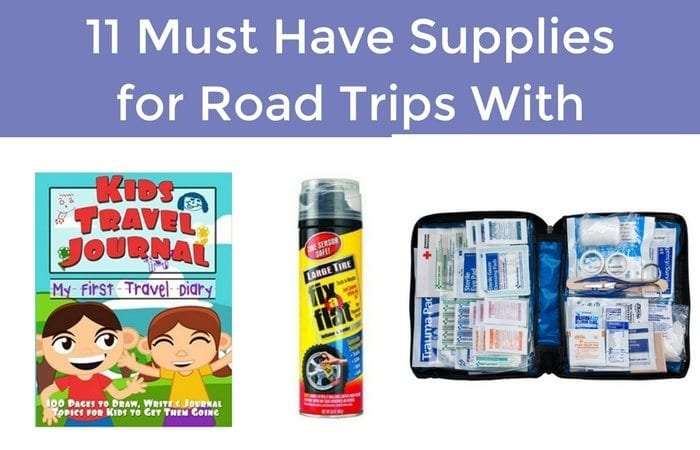 supplies for raod trips
