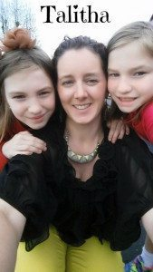 Talitha with Caelie and Ella!