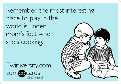 Twiniversity Funny: Obstacle Course Cooking