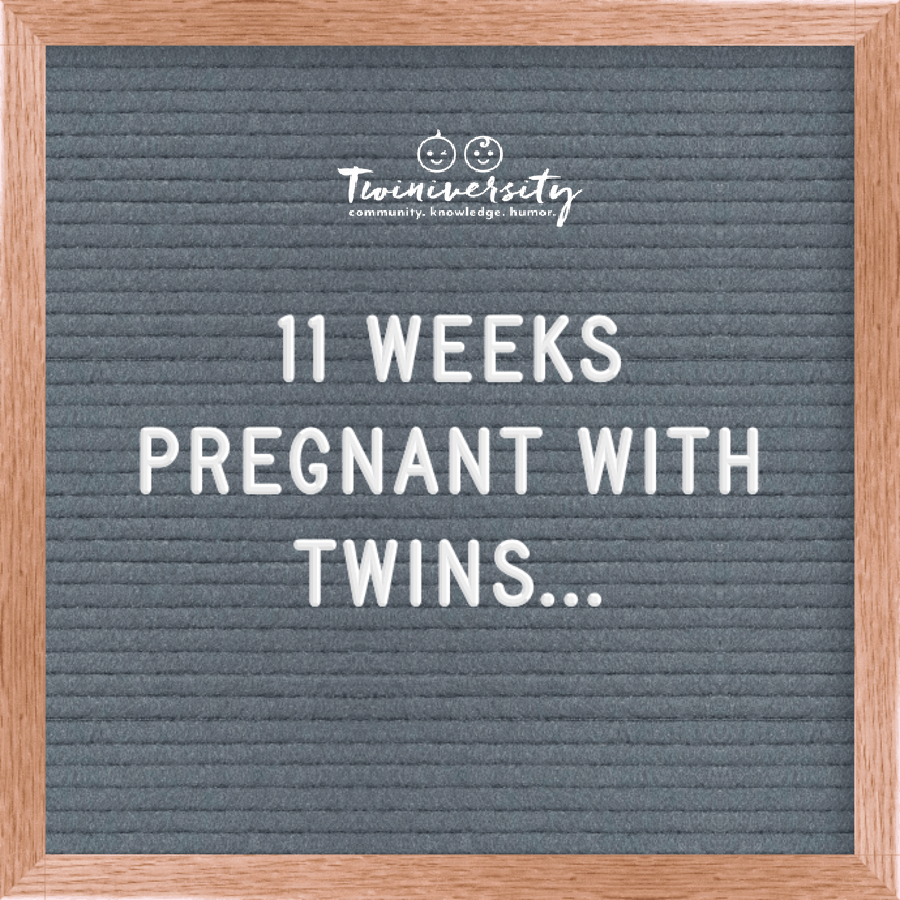 11 weeks pregnant