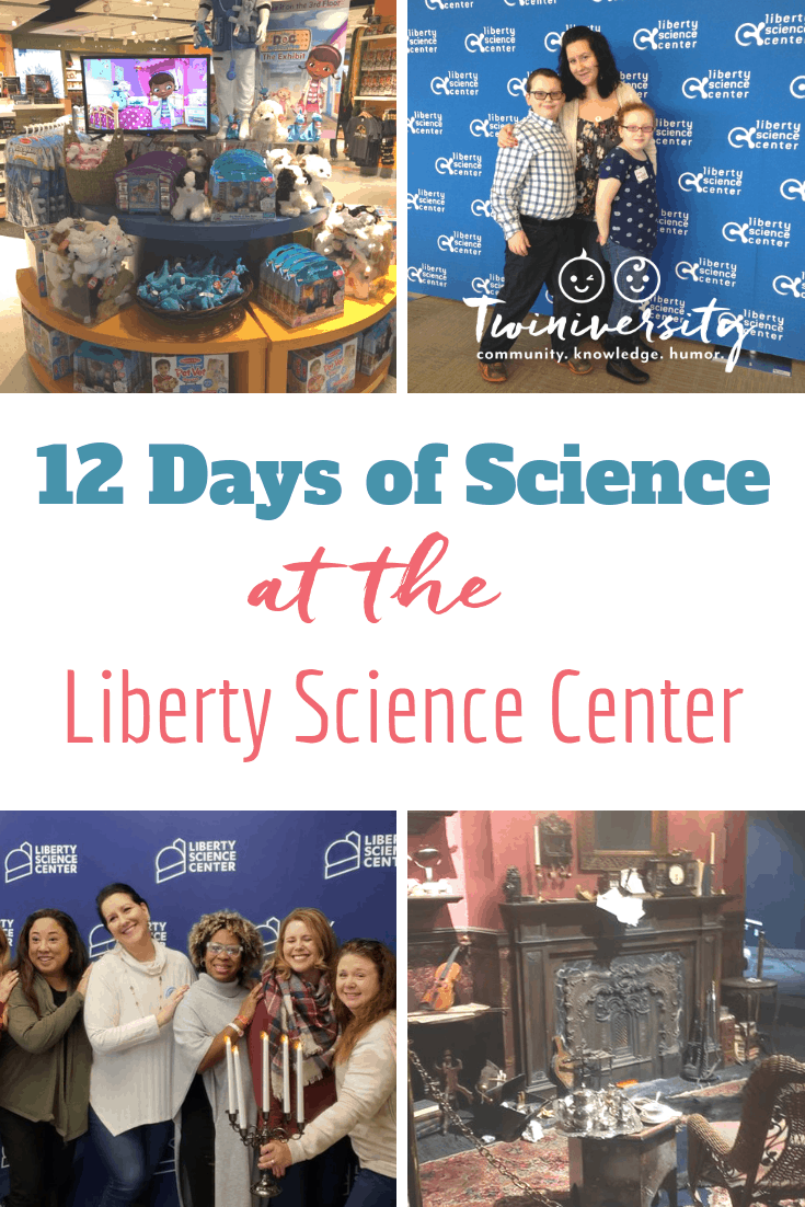 12 Days of Science at the Liberty Science Center #LSCWinterFun