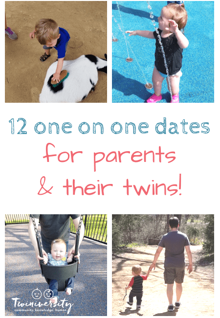 12 One on One Dates For Parents and Their Twins