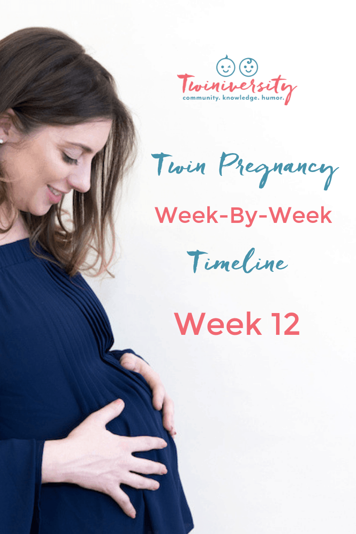 12 Weeks Pregnant with Twins - Twiniversity