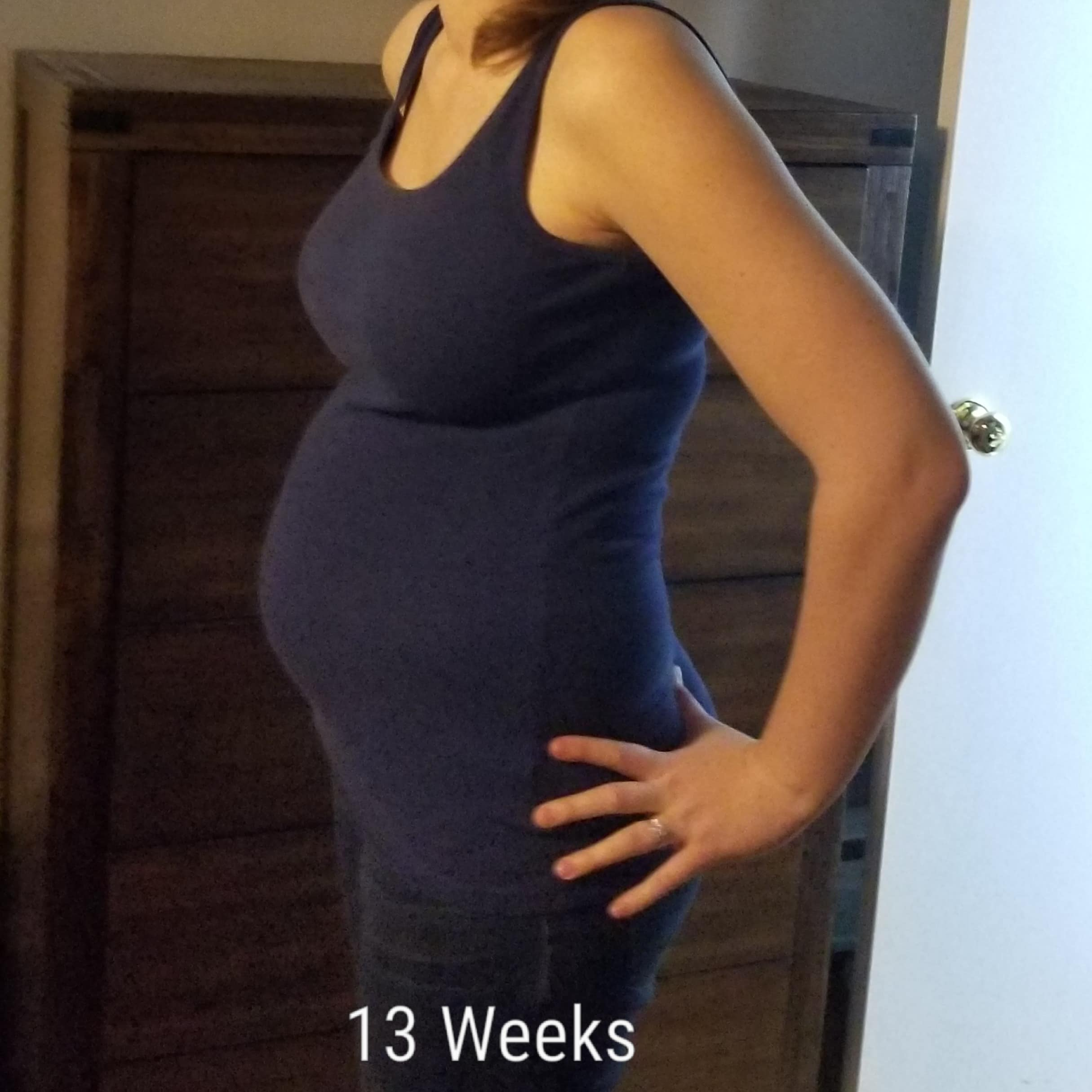 13 weeks pregnant with twins