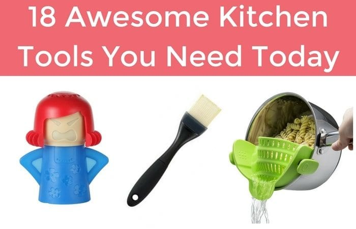 If You Love Cooking And Want To Make Your Time In The Kitchen Easier A Little Bit Of Fun Check Out These 18 Awesome Tools Need Today