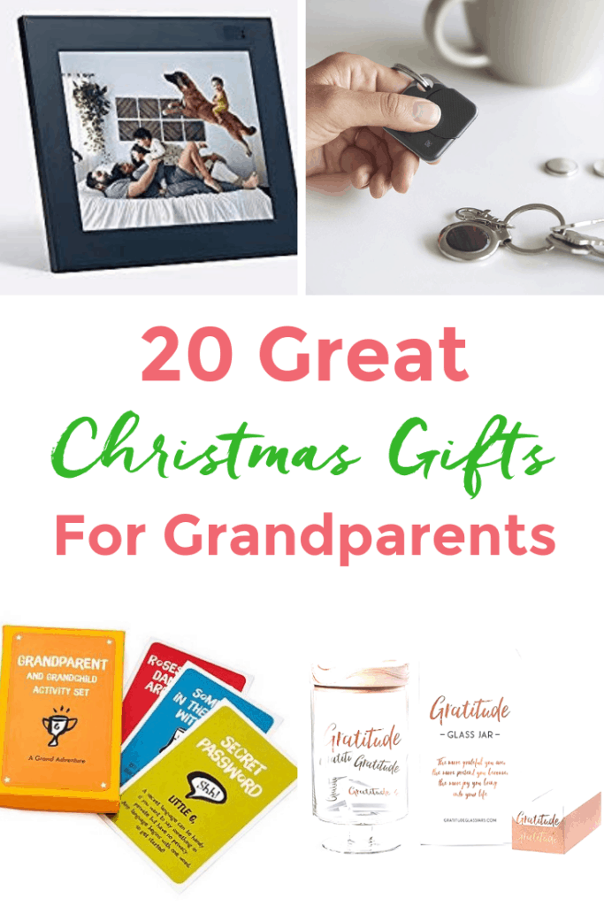20 Great Christmas Gifts for Grandparents 2018 - Twiniversity