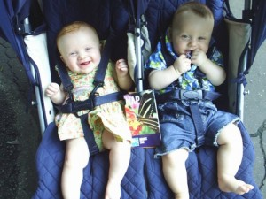 Getting Out of The House with Twins