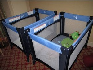 Hotel tips for travelling with twins
