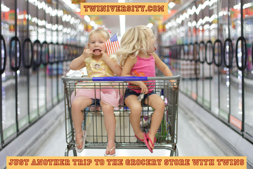 Just Another Trip to the Grocery Store With Twins