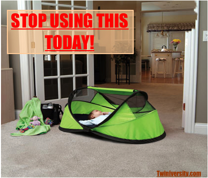 BREAKING NEWS With a heavy heart Twiniversity proudly reports that the PeaPod Travel Tent by KidCo has been officially recalled. After the horrific tragedy ... & PeaPod Has FINALLY Been Recalled - Twiniversity