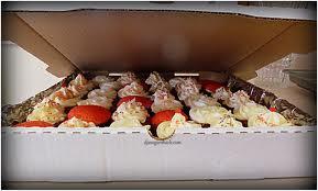 pizza box cupcakes