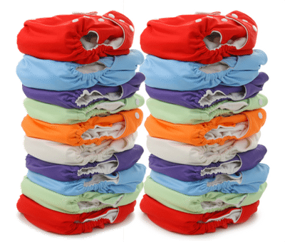 Cloth Diapering Twins Cheat Sheet