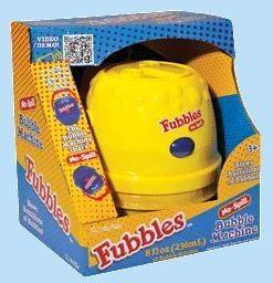Fubbles No spill bubble machine.