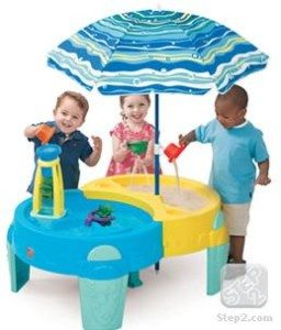 Shady Oasis Sand and Water Table by Step2