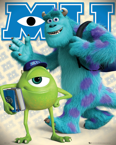 Movie weekend monsters university twiniversity headed voltagebd Image collections