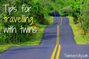 Tips for Travelling with Twins
