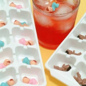 twin baby shower ice game