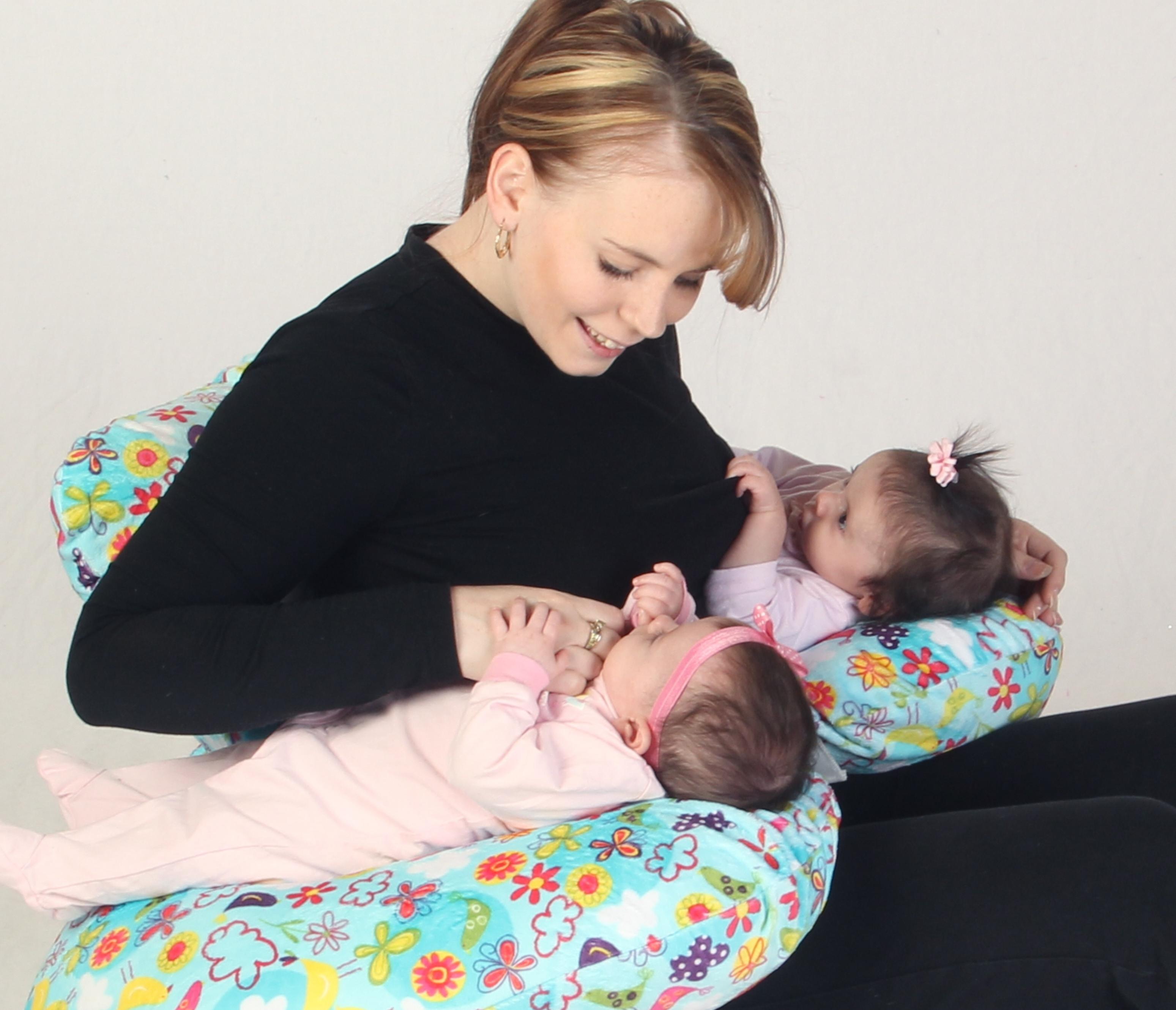 Twin Nursing Pillow Twiniversity