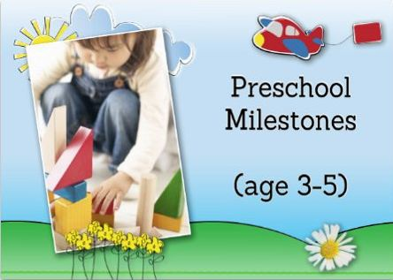 preschool milestones milestones for toddlers 3 4 years twiniversity 878