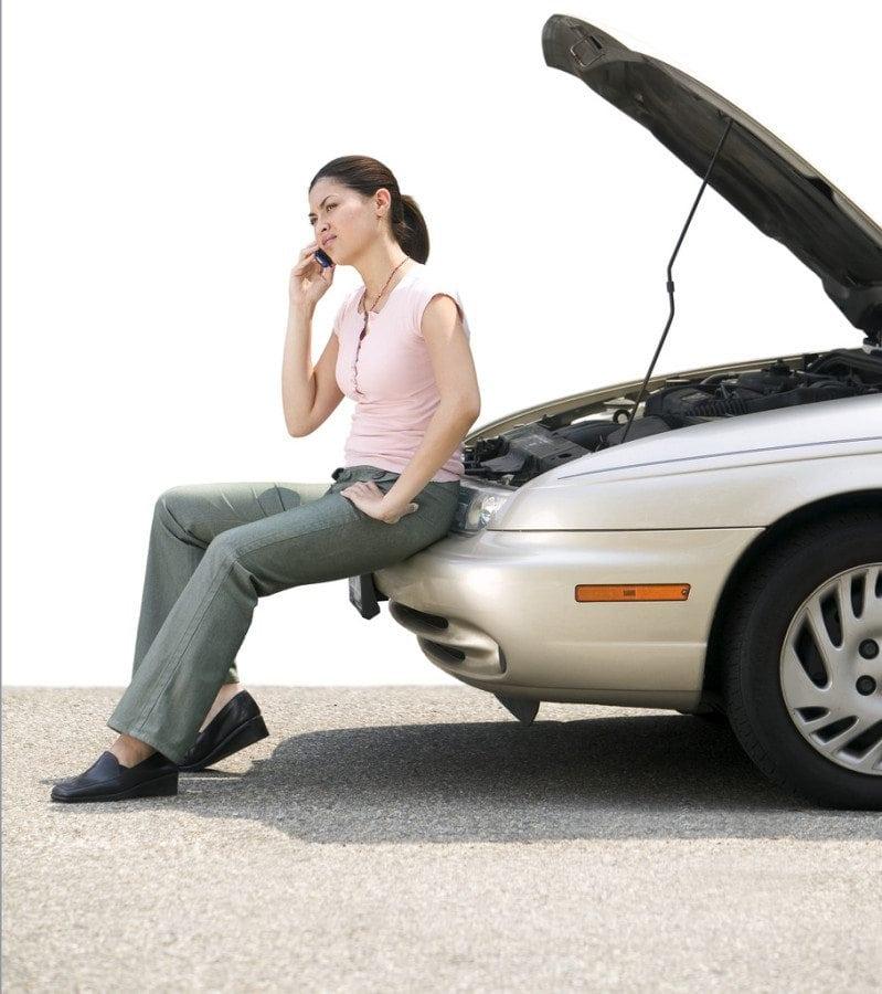 car broke down - call for help
