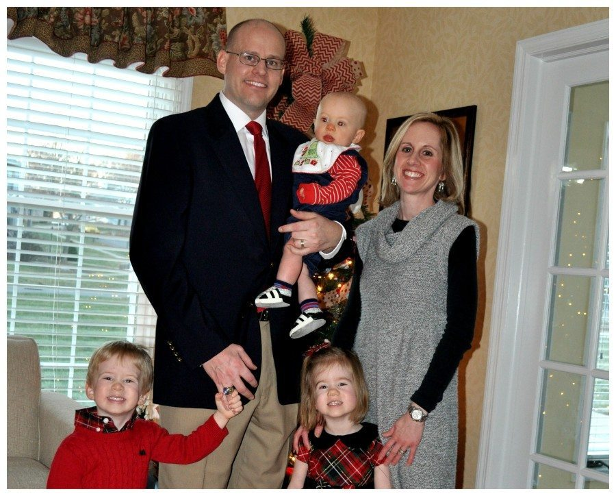 parents with three children third baby after twins