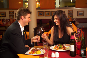 valentines day date night couple dinner
