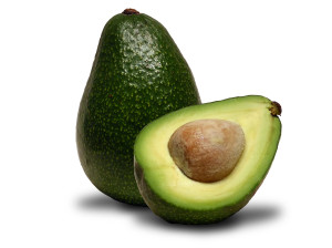 avocado food eating for three