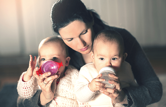 Weaning From Breastfeeding to Sippy Cups at Age 1