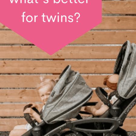 tandem or side by side stroller