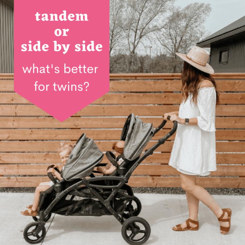 tandem or side by side
