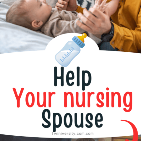 How Your Spouse Can Help You When You're Nursing Twins