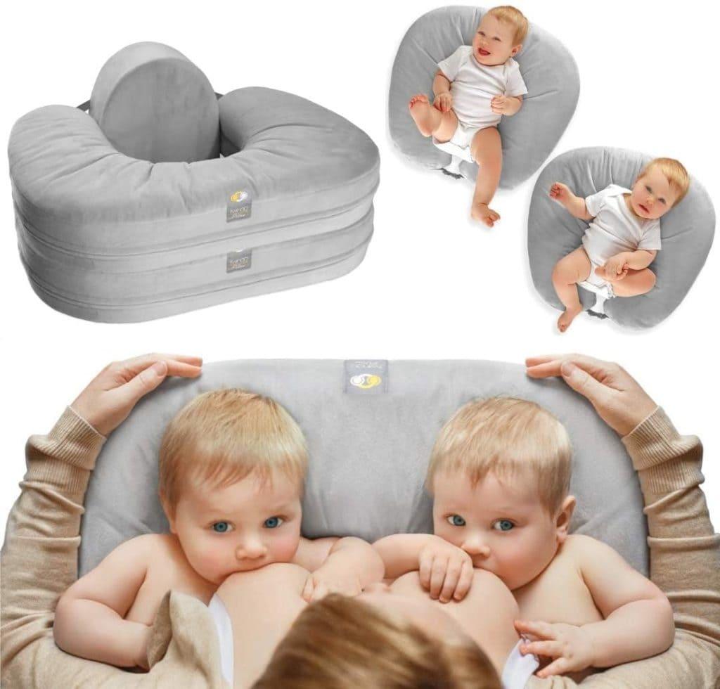twingo twin breastfeeding pillow