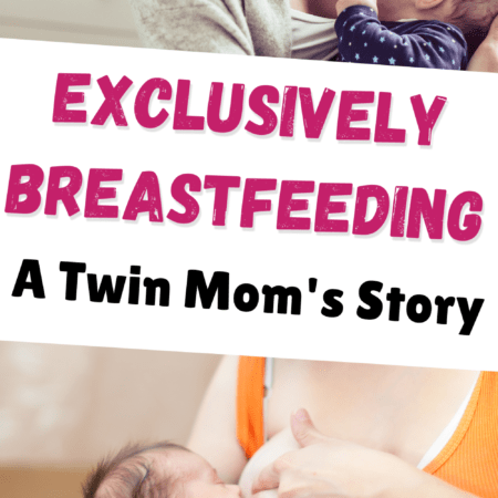 The Nuts and Bolts of How I Exclusively Breastfed Twins