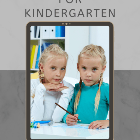 Preparing Twins for Kindergarten: Easing the Transition