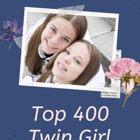 400 Girl Twin Names