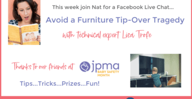 avoid furniture tip-over