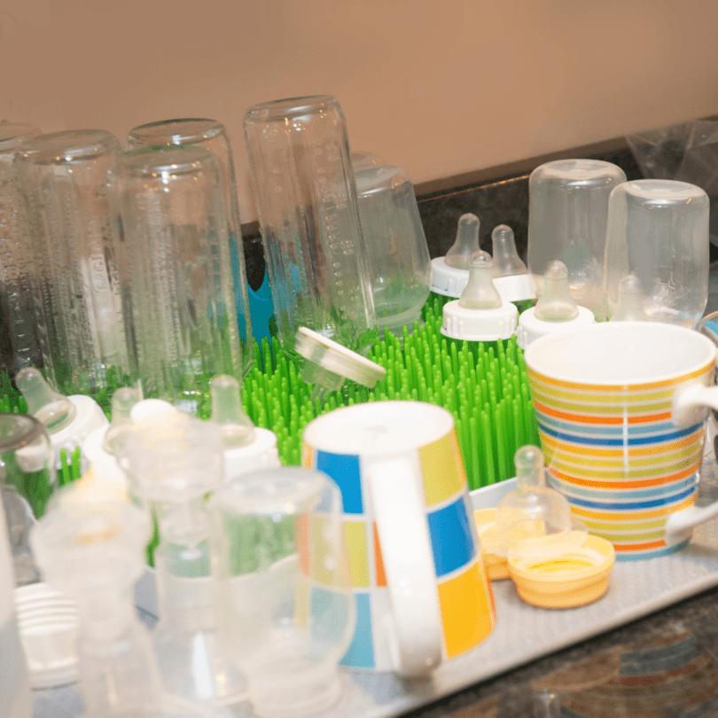 baby bottle drying rack