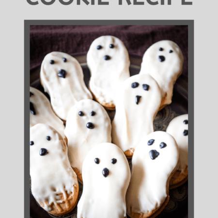 Ghost Cookies: Easy Nutter Butter Halloween Treats