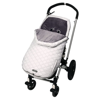 stroller blanket grey stroller covering blanket on an upright stroller