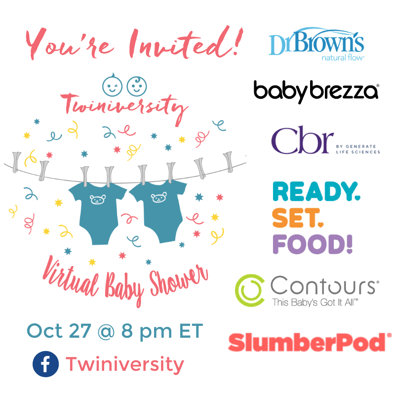 You're Invited! Virtual Baby Shower Oct 27 @ 8 pm ET